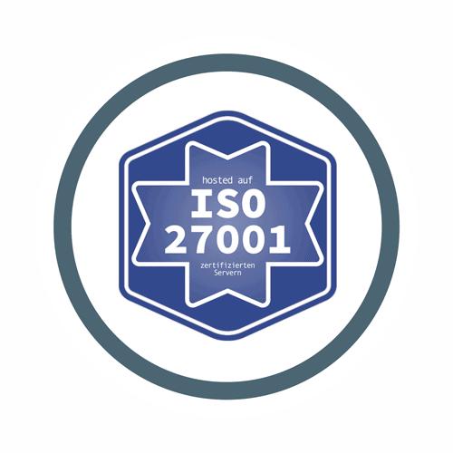 domonda hosted auf ISO 27001 zertifizierten Servern