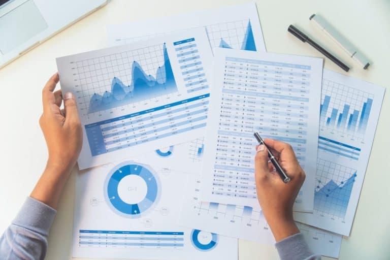 Liquiditäsprognose anhand von Charts